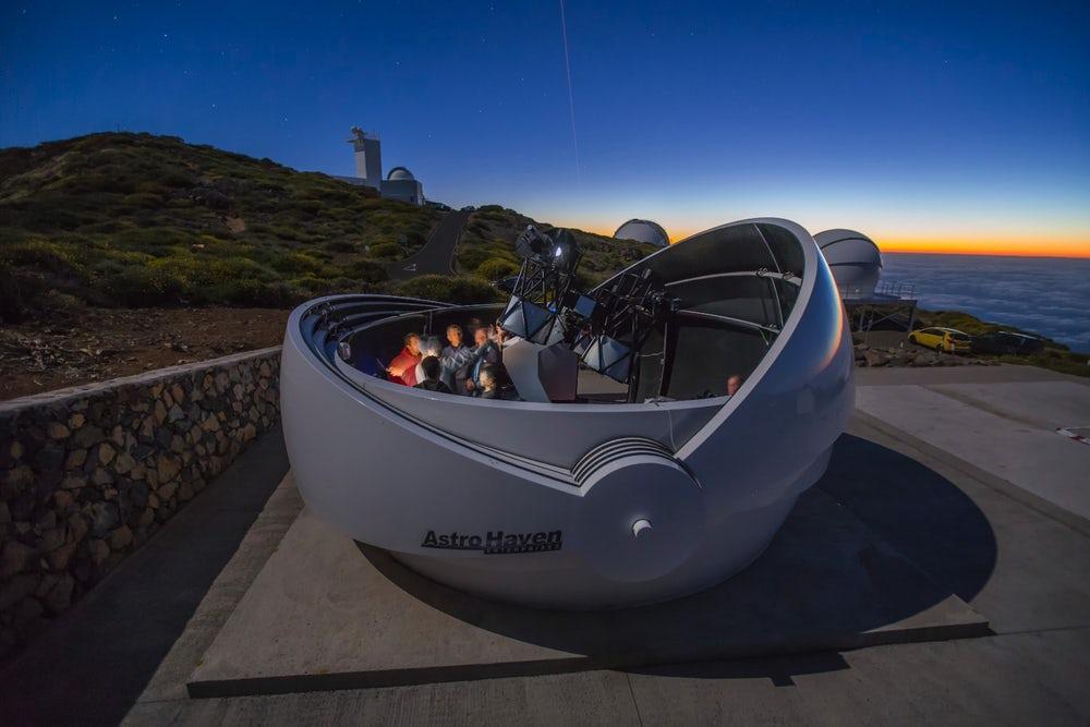 В Испании открыт телескоп для поиска гравитационных волн