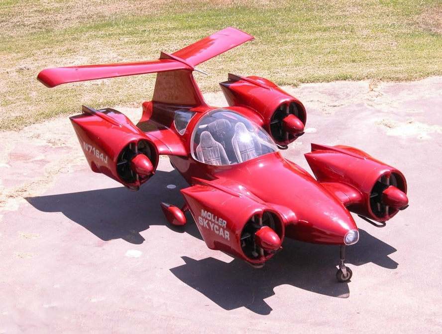 Летающий автомобиль уже сегодня можно приобрести наeBay