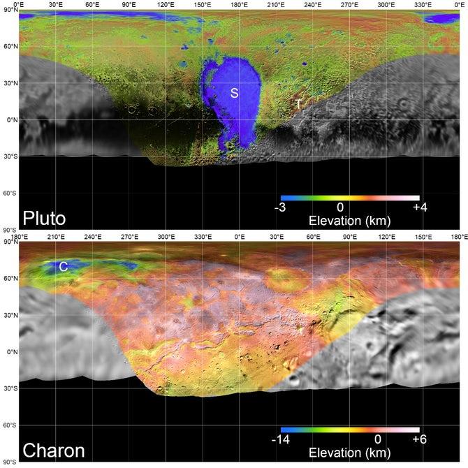 Новости технологий: NASA показало, как New Horizons пролетел над Плутоном и Хароном