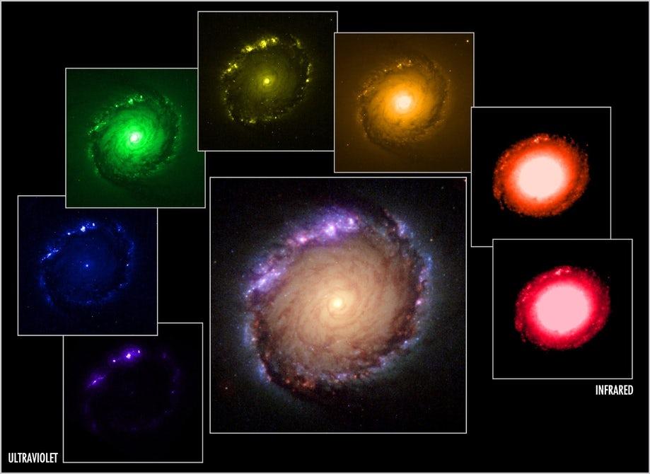 Опубликованы новые фотографии слияния двух галактик