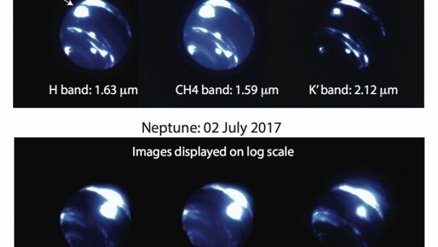 На Нептуне обнаружили шторм размером с Землю