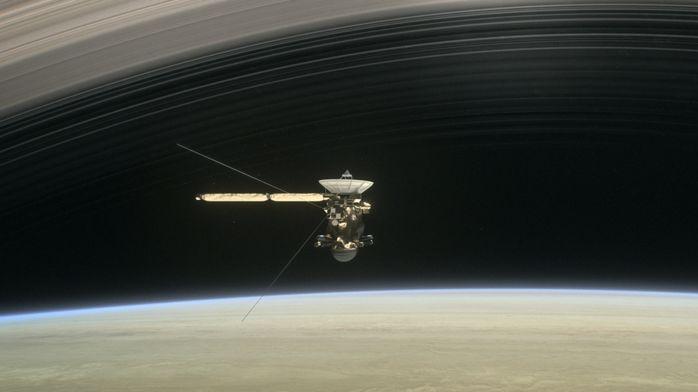 Получены предварительные данные о происхождении колец Сатурна