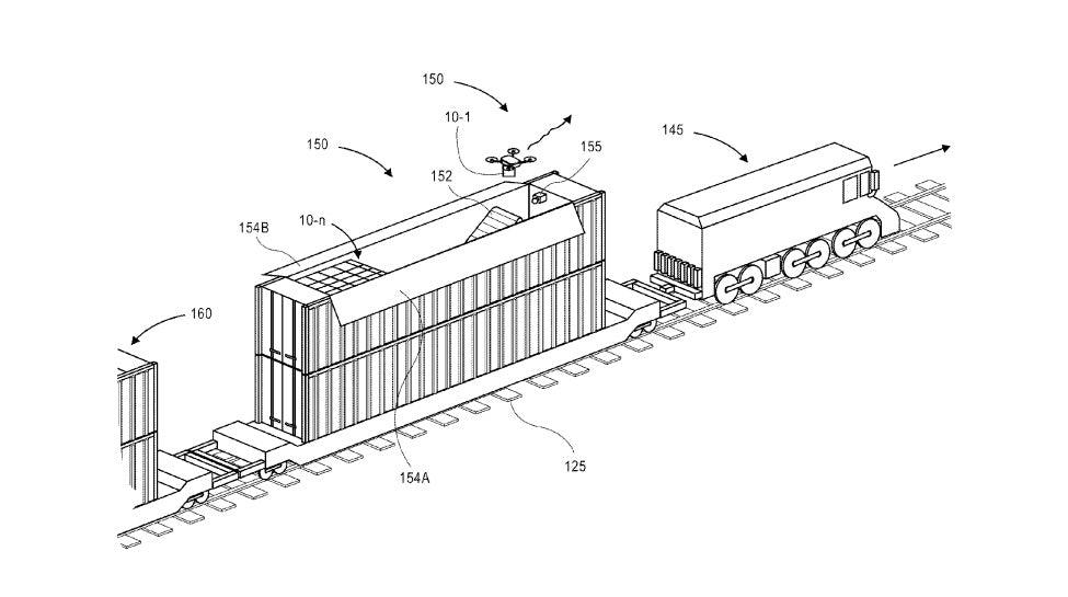 Amazon получила новый патент на беспилотную доставку