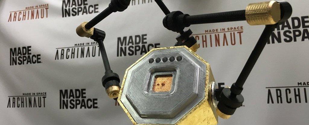 Создан 3D-принтер, способный работать в открытом космосе