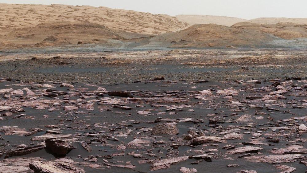Марсоход Curiosity отмечает пятую годовщину миссии наМарсе
