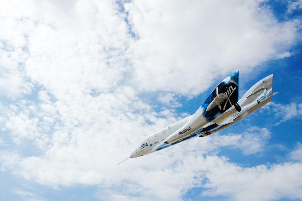 Virgin Galactic провела успешные испытания космоплана VSS Unity