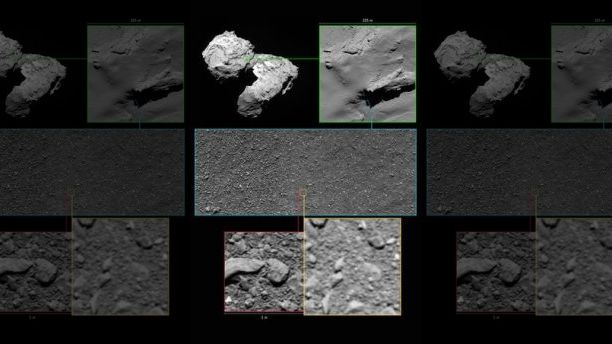 Опубликована последняя фотография зонда Rosetta