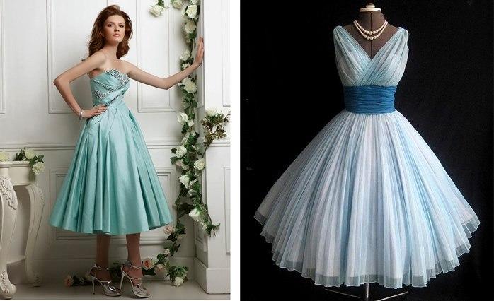 Вечернее платье ретро купить