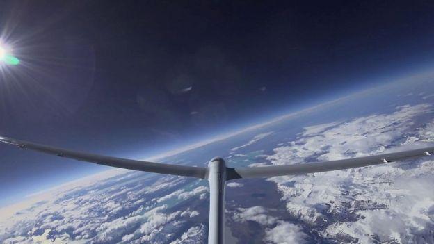 Perlan 2 установил рекорд высоты для безмоторных самолетов
