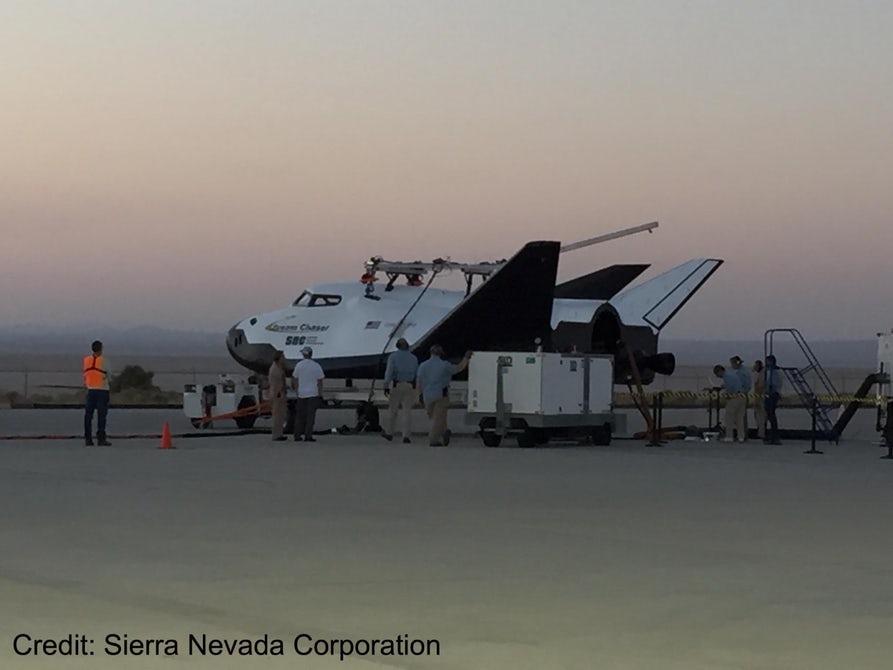 ВСША прошли тестирования космического корабля Dream Chaser