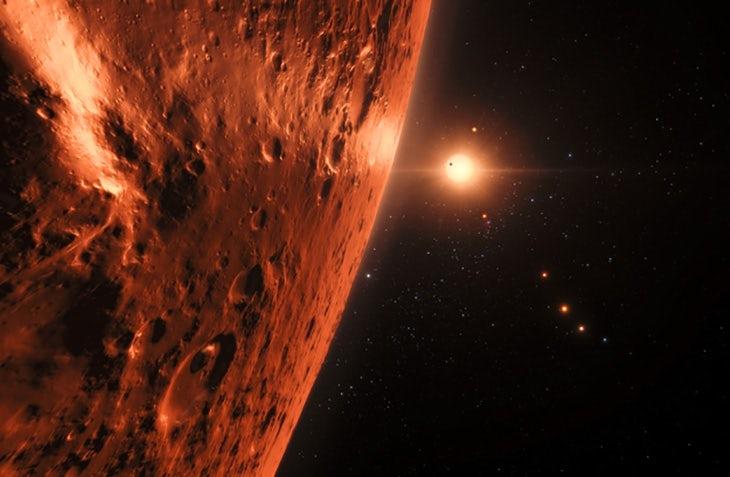 Ученые предоставили новые доказательства существования жизни на планетах TRAPPIST-1