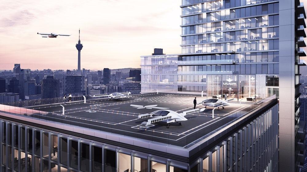 Lilium продолжает создание воздушного такси