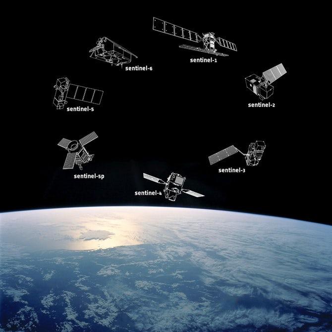 Россия доставит на орбиту европейский спутник