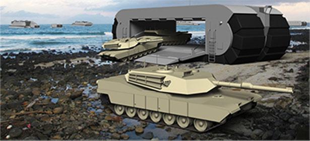 Американские военные испытали новый автомобиль-амфибия