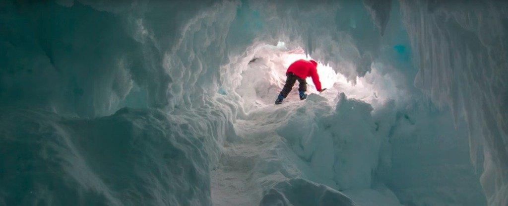 Ученые обнаружили в Антарктиде пещеры, где могут существовать неизвестные виды
