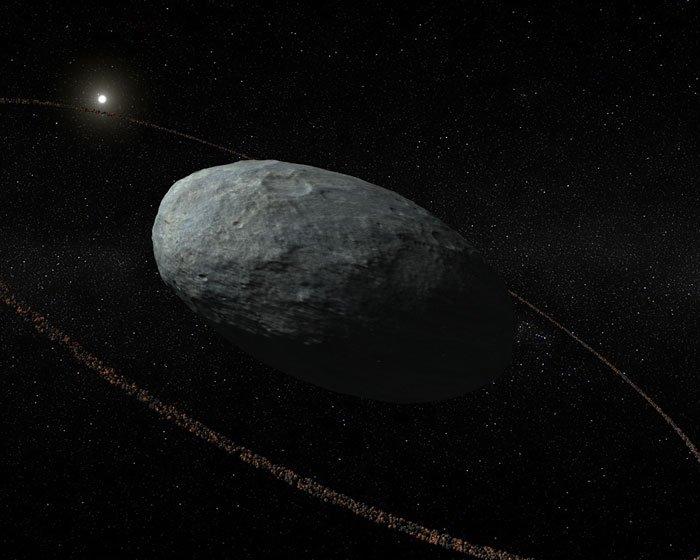ВСолнечной системе найдена новая система планетарных колец