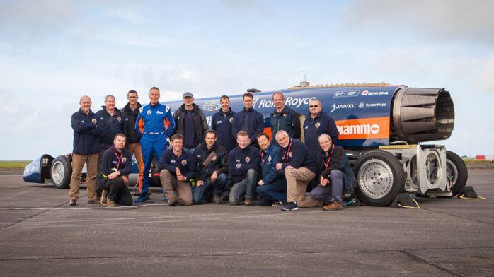Двигатель сверхзвукового автомобиля Bloodhound успешно прошел испытания