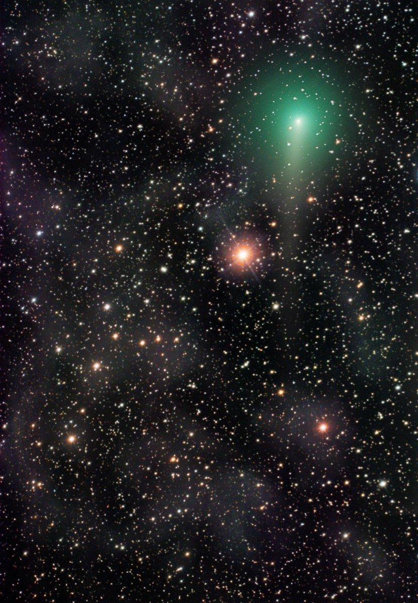 Сейчас в небе можно увидеть недавно появившуюся комету