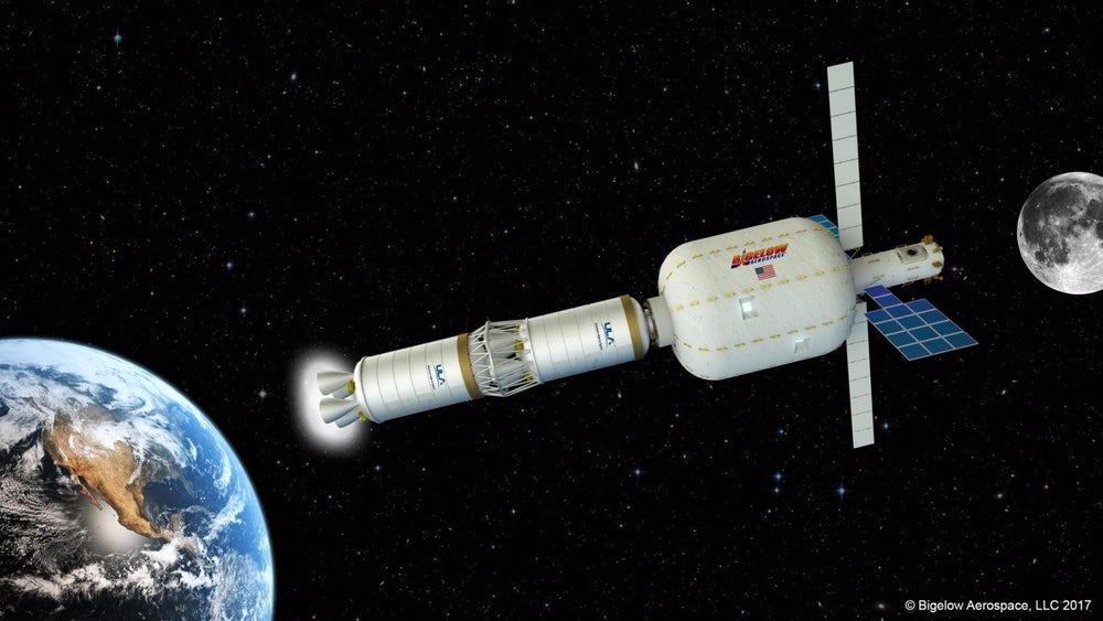 Bigelow и ULA развернут обитаемый модуль на лунной орбите