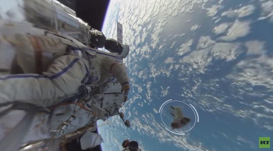Выпущено первое снятое в космосе 360-градусное видео