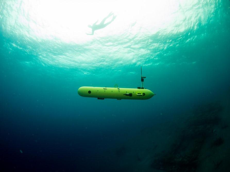 Израиль создал автономный подводный дрон