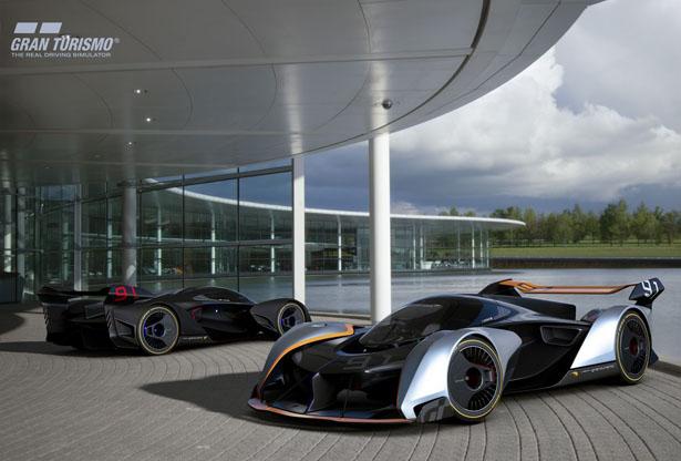 McLaren создал концепт-кар специально для видеоигры