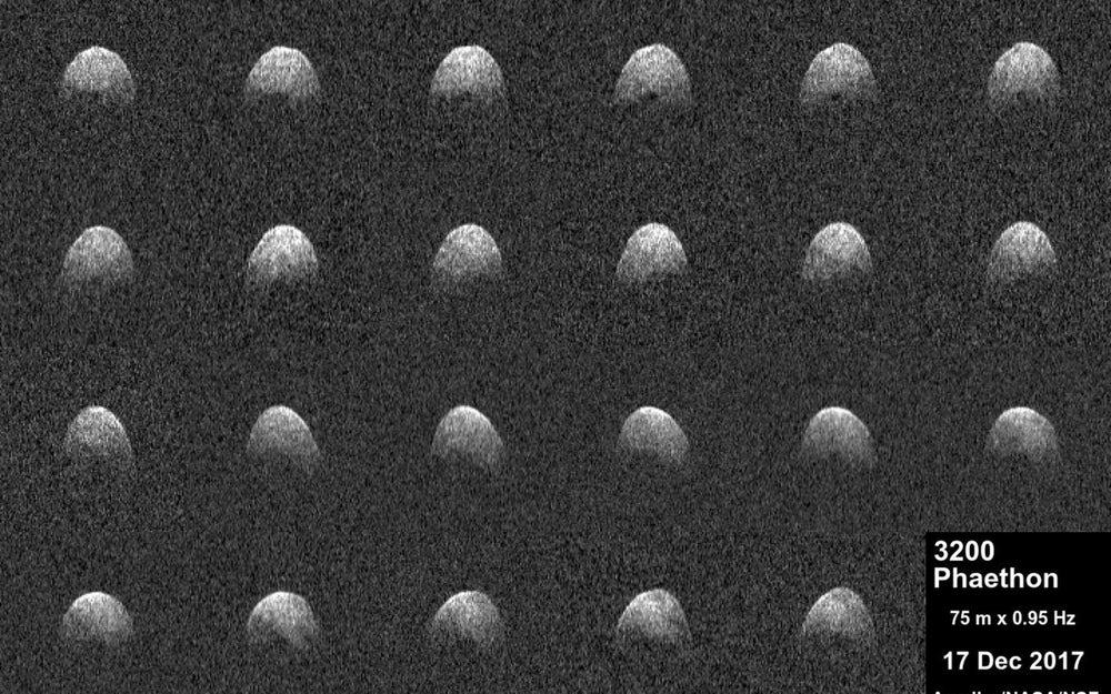 Ученые увидели «настоящее лицо» одного изсамых рискованных астероидов