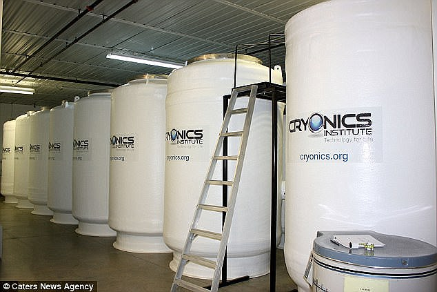 a look at the old practice of freezing people cryonics