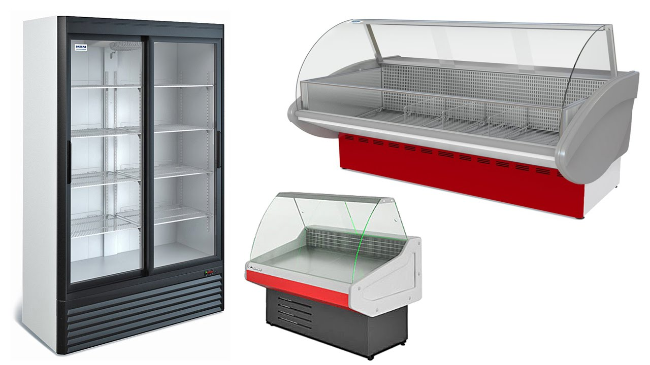Витринный холодильный шкаф б/у