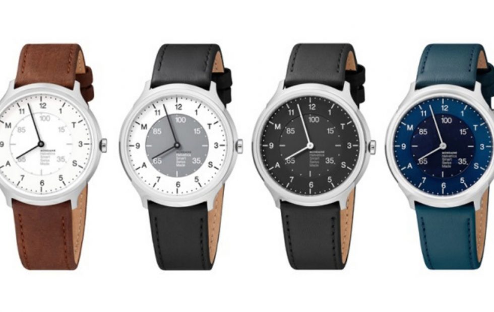 Mondaine представила смарт-часы Helvetica Regular саналоговым циферблатом