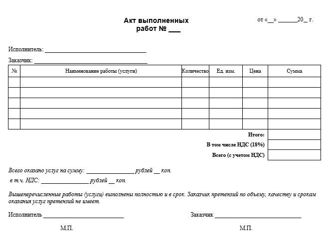 Акт проделанных работ онлайн самостоятельная работа по русскому онлайн 2 класс