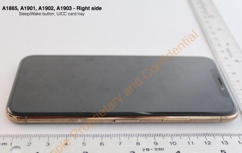 Федеральная комиссия по связи США показала, как выглядит золотой iPhone X