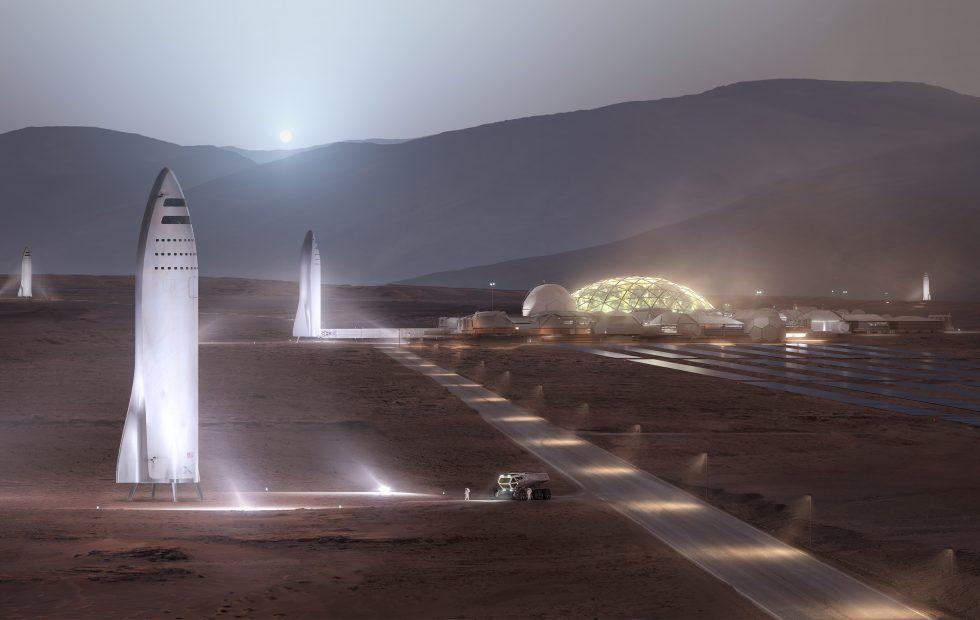 ВSpaceX назвали цену билета на«марсианскую» ракету
