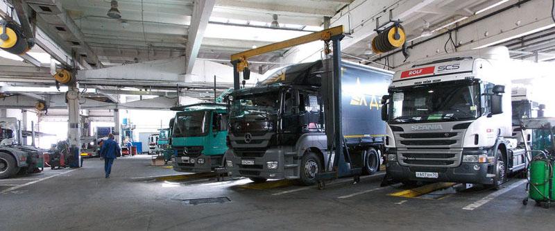 Быстрый ремонт грузовых автомобилей