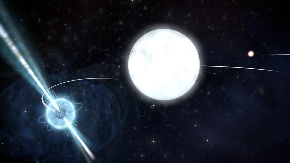 Что общего у пушинки и нейтронной звезды? Отвечают ученые из Университета Амстердама