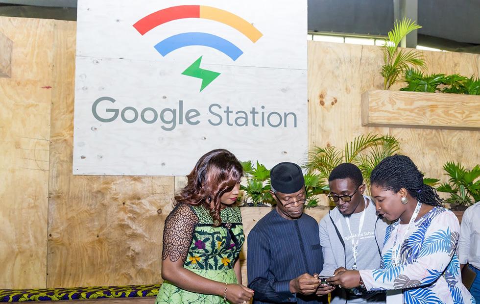 Google установила бесплатные беспроводные точки доступа вНигерии