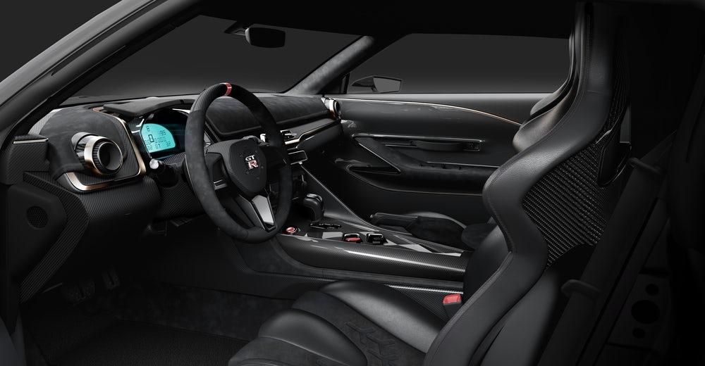 Nissan GT-R50 получил уникальный дизайн купе79