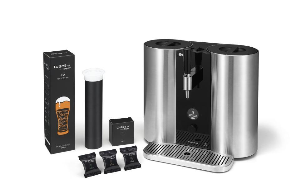 LG представила настольную капсульную пивоварню HomeBrew