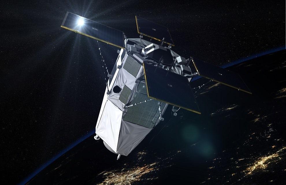 Франция запустила новый разведывательный спутник