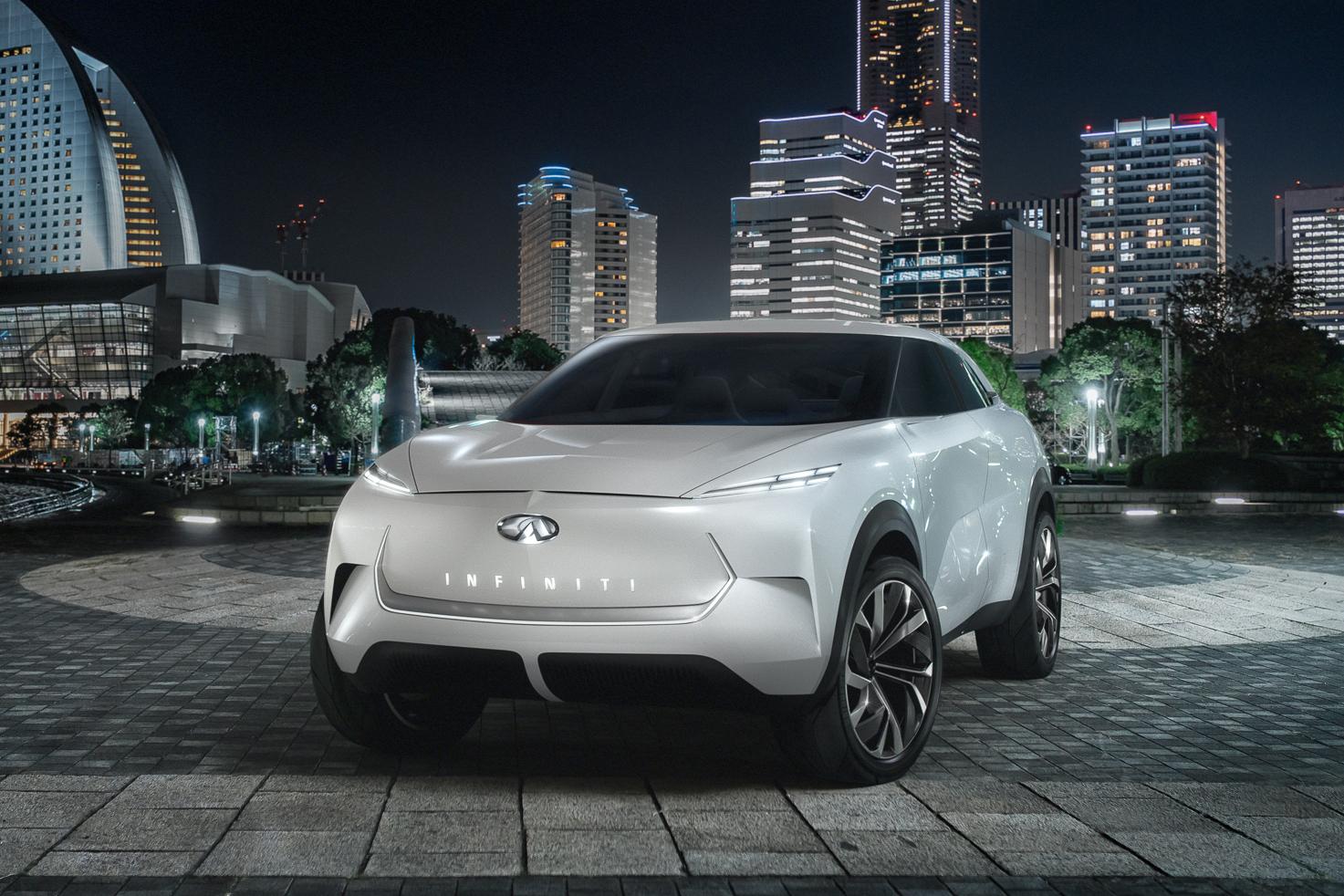Компания Инфинити рассекретила внешний облик своего электрокараQX Inspiration