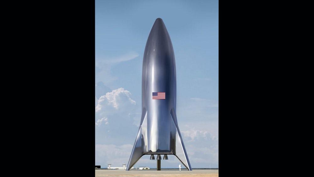 Илон Маск удивил первым реальным фото своей новой ракеты