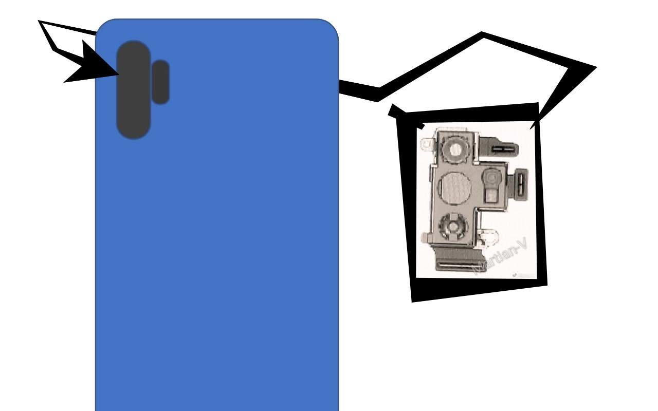 Вweb-сети размещены рендеры Самсунг Galaxy Note 10 Pro