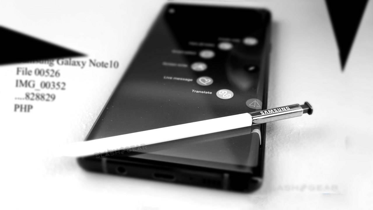 Galaxy Note10 Pro: внешность флагмана рассекретили на фото | Korrespondent.net