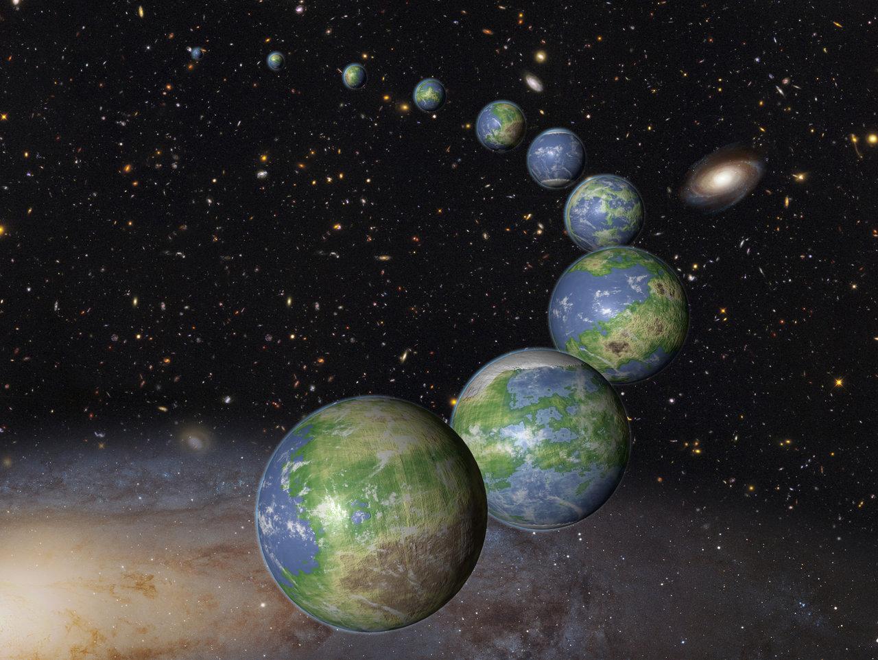 вряд планеты фото из космоса вне солнечной системы один типовых