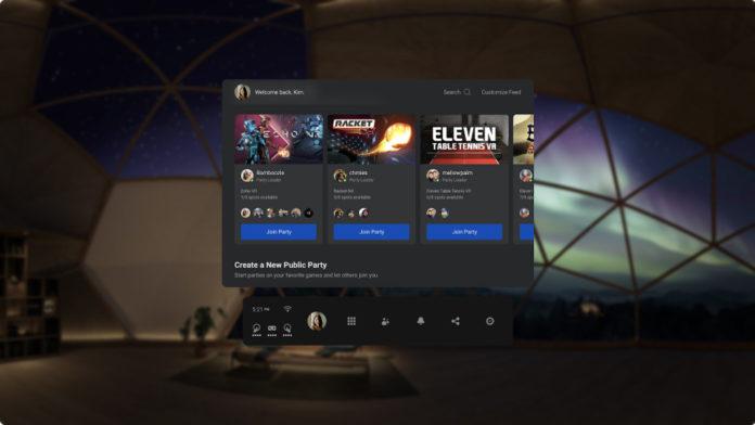 VR-шлемы Oculus получили серьёзное обновление ПО