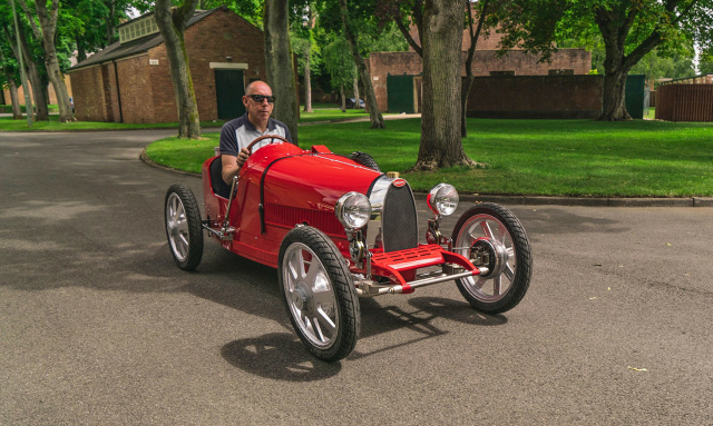 Bugatti представила свой первый электрокар