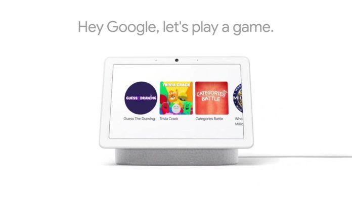 Умные дисплеи от Google получат обновление для интерактивных игр