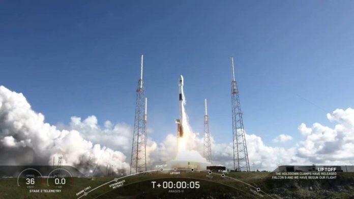 Ракета Falcon 9 произвела необычный 90-ый по счету запуск