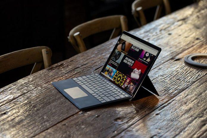 Surface Pro X теперь можно управлять при помощи глаз