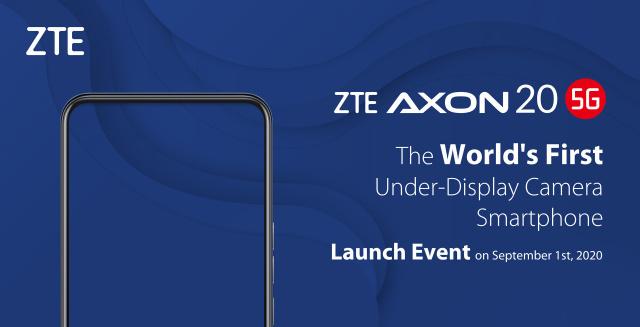 ZTE Axon 20 5G — первый в мире смартфон с подэкранной фронтальной камерой, который выйдет 1 сентября